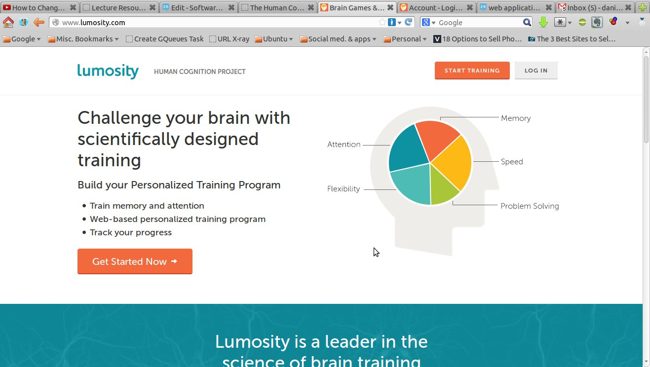 Luminosity web app