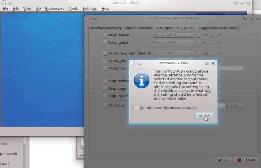 IMG: Select OK in dialog box