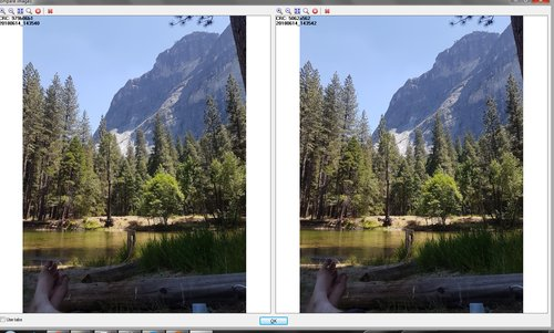 Screenshot of side-by-side image comparison