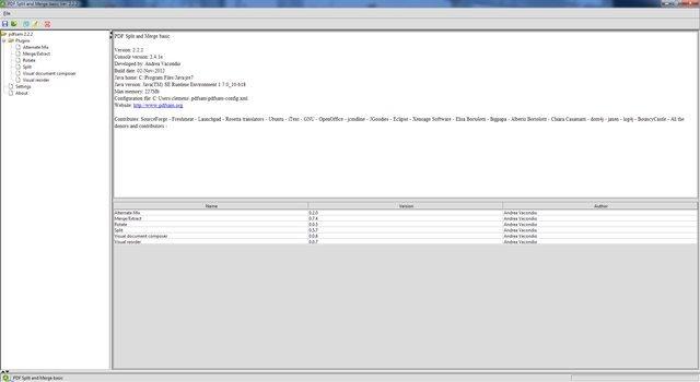 A Screenshot of PDFSam
