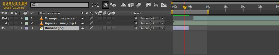 AfterEffect time-bar